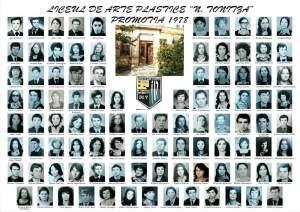Liceul N.Tonitza promotia 1978